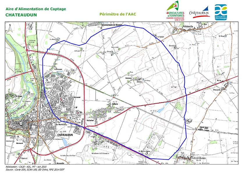 28 CARTE AAC CHATEAUDUN